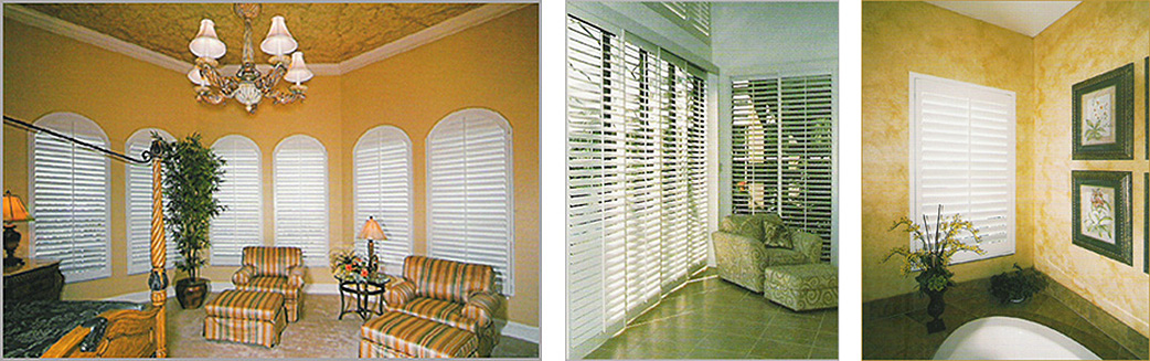 Devlin Plantation Shutters interior window fashions brighten up any living space and are made locally in Fort Myers