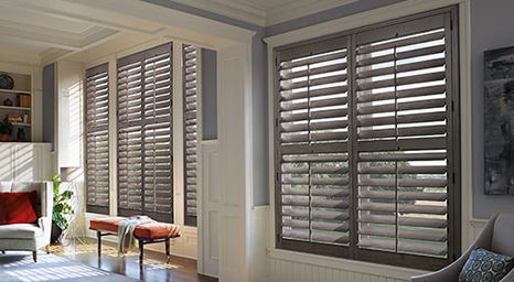 Hunter Douglas' collection of interior shutters will not only direct the perfect amount of light into your home, but will also add true character to any space